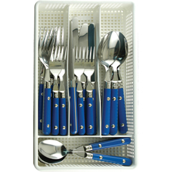 Galleyware Blue Nautical Flatware, Boat Tableware