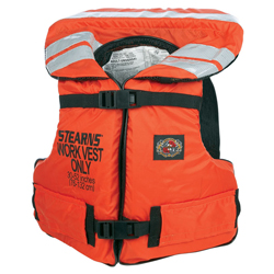 Stearns ''work Master'' Vest Oversize 52'' To 62'', Commercial Life Jackets for Boats & Yachts