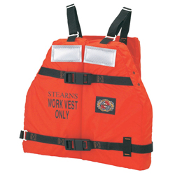 Stearns ''work Force Ii'' Commercial Vest, Commercial Life Jackets for Boats & Yachts