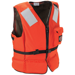 Stearns ''deck Hand Ii'' Heavy Duty Flotation Vest Large, Commercial Life Jackets for Boats & Yachts
