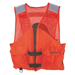 Stearns Comfort Series Utility Flotation Vest Medium, Commercial Life Jackets for Boats & Yachts