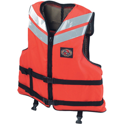 Stearns ''work Boat'' Flotation Vest Medium 40'' 42'', Commercial Life Jackets for Boats & Yachts