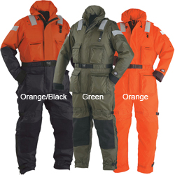 Stearns The Challenger Anti Exposure Work Suit Orange/black Xxl 50'' To 52'', Commercial Life Jackets for Boats & Yachts