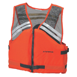 Stearns The Deck Hand Flotation Vest Large, Commercial Life Jackets for Boats & Yachts