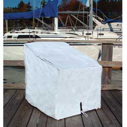 Taylor Made Single Deck Chair Cover, Boat Seat Hardware
