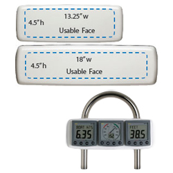 Navpod 3 Inst Gp Series 9 5 Instrument (usable Face 14''w X 4 5''h) Dimensions 15 1/2'' 3/4'', Fixed-Mount GPS Accessories for Boats & Yachts