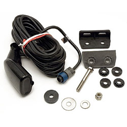 Lowrance /eagle Hst Dfsbl Skimmer Transducer With Temperature, Transducers for Boats & Yachts