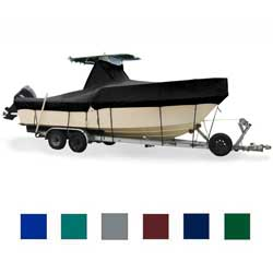 Taylor Made Center Console Top Cover Ob Pacific Blue Hot Shot 20'5'' 21'4'' 102'' Beam, Sturdy Boat Covers