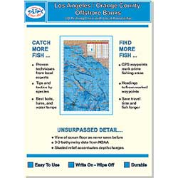 Baja Directions Fishing Charts Of Southern California & Baja Mexico East Cape 11'' 17'' Laminate, Foreign Charts for Boats & Yachts