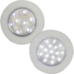 West Marine Recessed Led Accent/task Lights 16 White/task, LED Interior Lights for Boats & Yachts