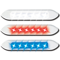 Marinefx Led Marker Lights White, LED Interior Lights for Boats & Yachts