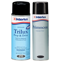 Interlux Trilux 33 & Prop Drive Antifouling Paint And Paint White, Bottom Paint for Boats & Yachts