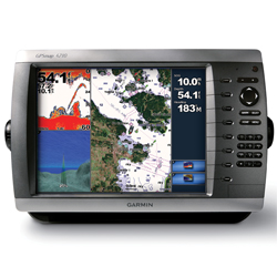 Garmin Gpsmap 4010 Network Chartplotter With Worldwide Basemap 10'' Diag Screen, Network Displays for Boats & Yachts