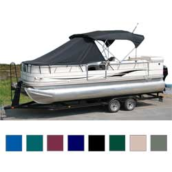 Taylor Made Pontoon Playpen Shade For 18' 20' Boat Teal, Boat Bimini Tops