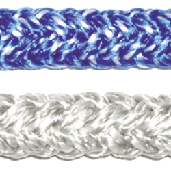 Fse Robline Racing Sheet 6mm Sheet 2420lb Breaking Strength Blue, Dyneema & Spectra Lines for Boats & Yachts