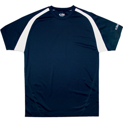 Gill Short Sleeve Technical Tee Navy/white Xl, Boaing Men's Knit Performance Short-Sleeve Shirts