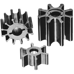 Jabsco Impellers Neoprene Impeller 5 X 4 7 Drive Brass Insert 13 Blades, Engine Water Pumps & Parts for Boats & Yachts