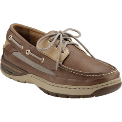 Sperry Top Sider Men's Gold Cup Billfish Three Eye Boat Shoes Tan/beige 14m, Men's Boating Moccasins