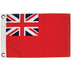 Taylor Made Uk Merchant Country Flag 12'' X 18'', Marine Foreign Courtesy Flags