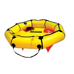 Revere Supply 4 Person Coastal Compact Life Raft, Life Rafts for Boats & Yachts