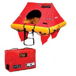 Revere Supply Coastal Elite Life Raft 6 Person Valise, Life Rafts for Boats & Yachts