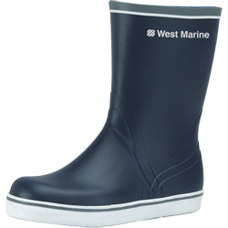 West Marine Short Cruising Boots 9, Men's Boating Boots