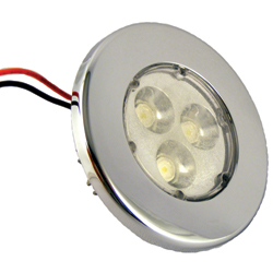 DR Led 3'' High Flux Waterproof Led Recessed Lights Spot, LED Interior Lights for Boats & Yachts