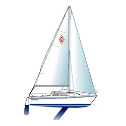 West Marine Catalina 22 Mkii Custom Rigging Spin Halyard 61' Loa New England Ropes' Sta Set X White (1/4'') With Ronstan (rf6110) Snap Shackle Spliced One En, One-Design Running Rigging for Boats & Yachts