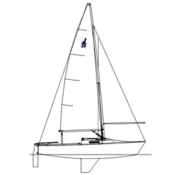West Marine J22 Custom Rigging Jib Sheet 30' Loa New England Ropes' Vpc White (8mm) Whipping Each End, One-Design Running Rigging for Boats & Yachts