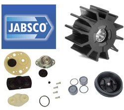 Jabsco Service Kit For Electric Toilet Quiet Flush Head, Head Parts for Boats & Yachts