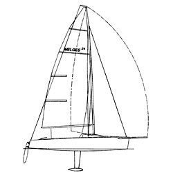West Marine Melges 24 Custom Rigging Jib Sheet 52' Loa New England Ropes' Endura Braid Solid Green (8mm) 4' Stripped From Each End 1 1/2'' Eye Spliced Wich, One-Design Running Rigging for Boats & Yachts