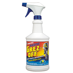 Knight Products Marine Grez Off, Specialty Cleaners for Boats & Yachts