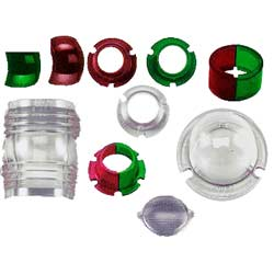 Replacement Lenses For Perko Navigation Lights Fits 945 Stern, Navigation Lights for Boats & Yachts