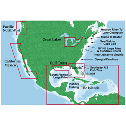 Waterproof Charts Florida & Gulf Region #89 The Big Bend, Pre-Printed US Charts for Boats & Yachts