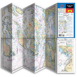 Maptech U s Pacific Waterproof Charts #124 Lake Mead Ed, Pre-Printed US Charts for Boats & Yachts