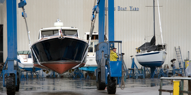 Winter Projects at West Marine Port Clinton