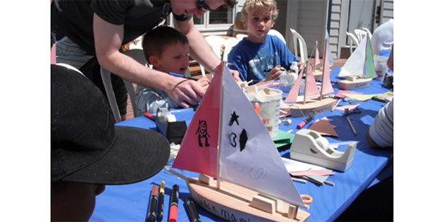 Father's Day Boat Building Class  at West Marine Bellevue