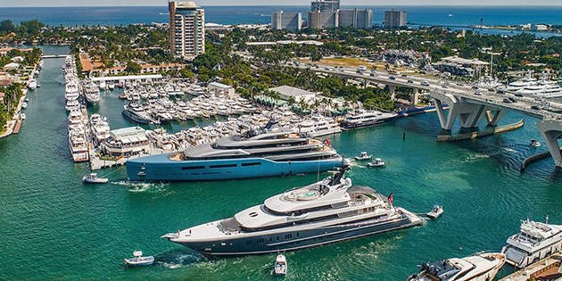 Fort Lauderdale Boat Show at West Marine Ft Lauderdale