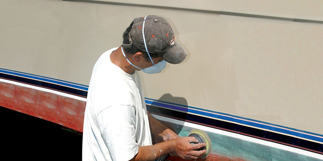Bottom Painting Seminar at West Marine Riverhead