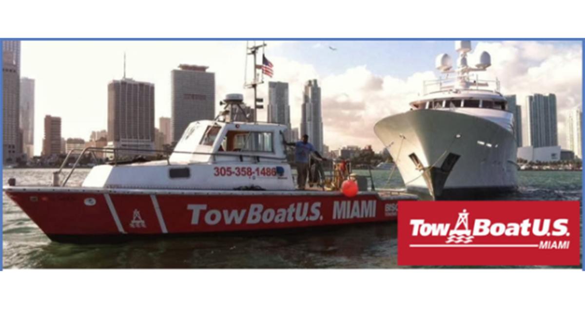 Boat US Towing Day at West Marine Miami