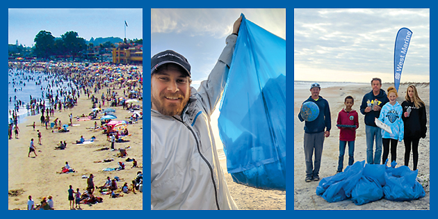 Beach Cleanup Awareness Day at West Marine Fairhaven