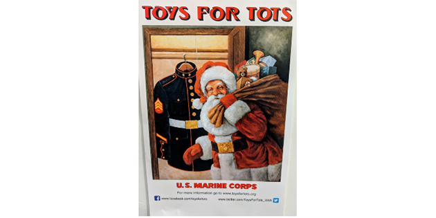 Toys for Tots at West Marine New Castle