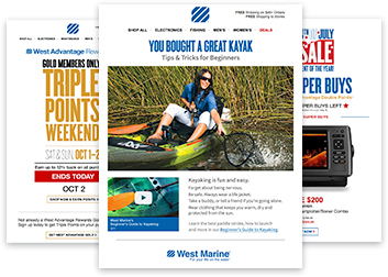 West Marine - Email Sign Up