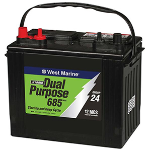 Group 24 Dual Purpose Battery