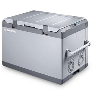 Dometic 112 quart coolmatic compressor cooler and freezer