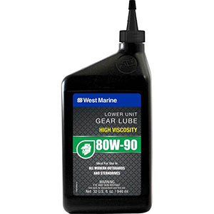 West Marine Synthetic blend lower unit gear lube