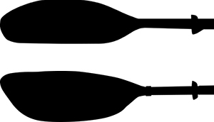 symmetrical blade versus asymmetrical paddle blade example