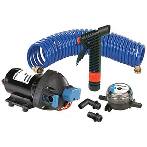 West Marine 4 gallon per minute washdown pump kit
