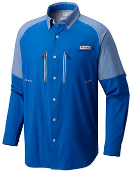 Columbia Men's PFG Solar Shade ZERO™ Woven Shirt