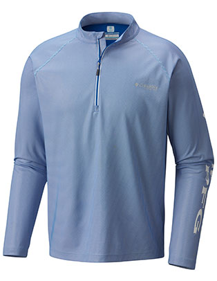 Columbia Men's PFG Solar Shade ZERO™ 1/4 Zip Pullover
